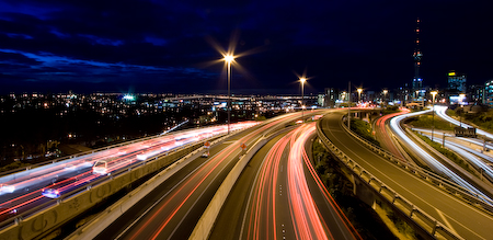 Auckland at Night (1)