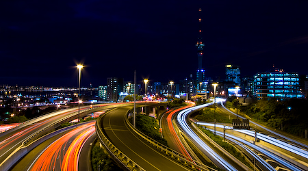 Auckland at Night (2)
